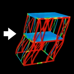 耐震シミュレーション 在来鉄骨軸組み工法