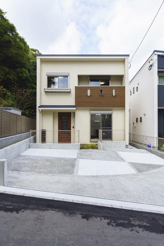 長崎市,SEIBU,分譲,土地,新築,マイホーム,施工事例,外観,,暮らし,シンプル,ベストライフの家,ウッディ―,心地のいい家,